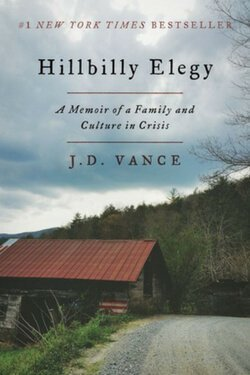 book cover Hillbilly Elegy by J. D. Vance