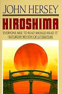 book cover Hiroshima by John Hershey