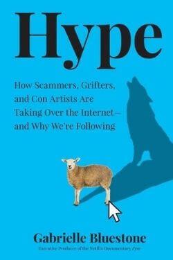 book cover Hype by Gabrielle Bluestone