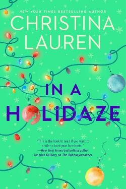 book cover In a Holidaze by Christina Lauren