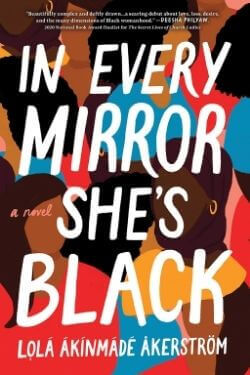 book cover In Every Mirror She's Black by Lola Akinmade Akerstrom