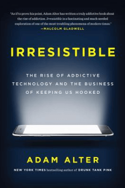 book cover Irresistible by Adam Alter