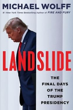 book cover Landslide by Michael Wolff