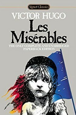 book cover Les Miserables by Victor Hugo