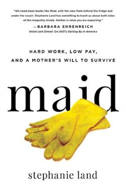 book cover Maid by Stephanie Land