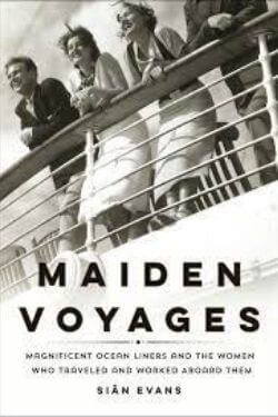 book cover Maiden Voyages by Sian Evans
