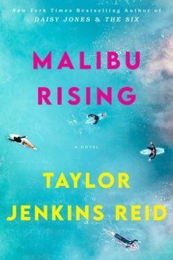 book cover Malibu Rising by Taylor Jenkins Reid