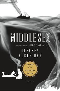 book cover Middlesex by Jeffrey Eugenides