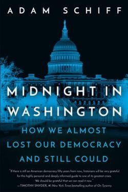book cover Midnight in Washington by Adam Schiff
