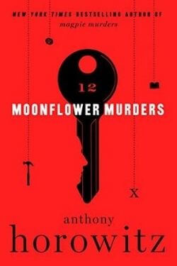 book cover Moonflower Murders by Anthony Horowitz