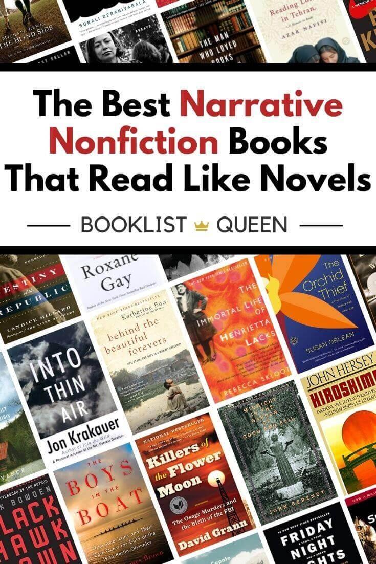 The Best Narrative Nonfiction Books That Read Like Novels