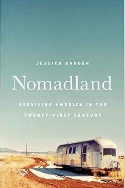 book cover Nomadland by Jessica Bruder