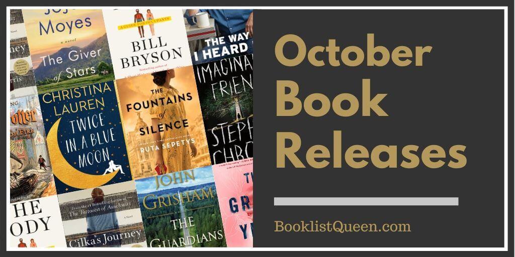 October 2019 Book Releases