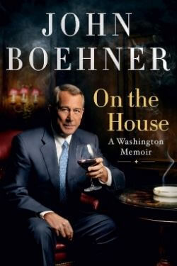 book cover On the House by John Boehner