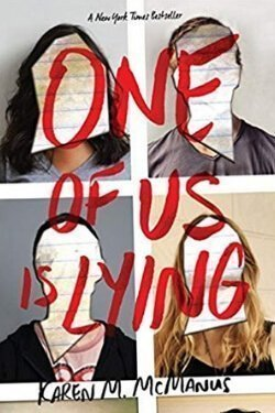 book cover One of Us Is Lying by Karen McManus