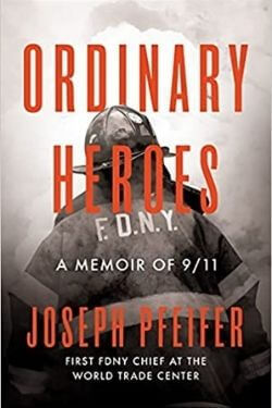 book cover Ordinary Heroes by Joseph Pfeifer