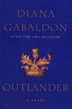 book cover Outlander by Diana Gabaldon