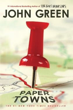 book cover Paper Towns by John Green