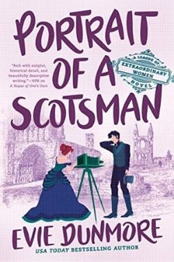 book cover Portrait of a Scotsman by Evie Dunmore
