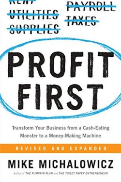 book cover Profit First by Mike Michalowicz