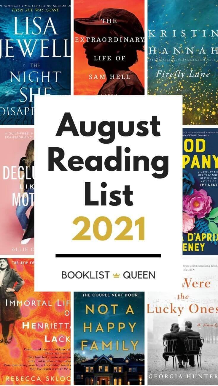 August 2021 Reading List