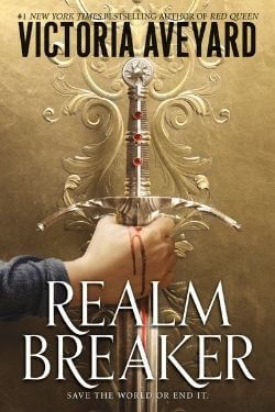 book cover Realm Breaker by Victoria Aveyard