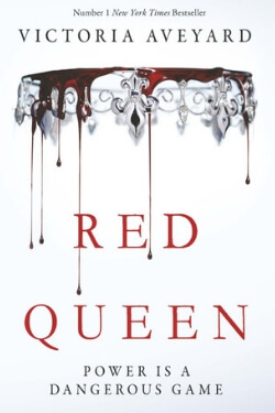 book cover Red Queen by Victoria Aveyard