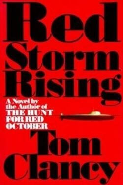 book cover Red Storm Rising by Tom Clancy