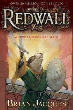 book cover Redwall by Brian Jacques