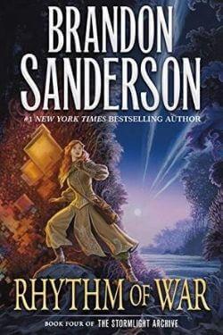 book cover Rhythm of War by Brandon Sanderson