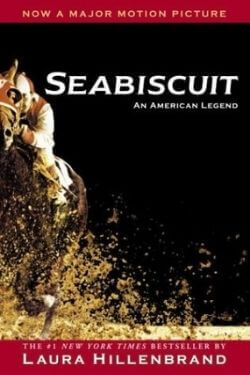 book cover Seabiscuit by Laura Hillenbrand
