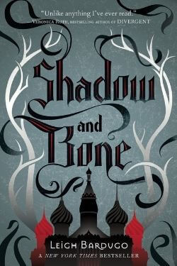 book cover Shadow and Bone by Leigh Bardugo