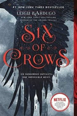 book cover Six of Crows by Leigh Bardugo