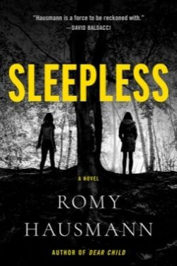 book cover Sleepless by Romy Hausmann