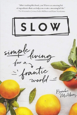 book cover Slow by Brooke McAlary
