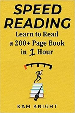 book cover Speed Reading by Kam Knight