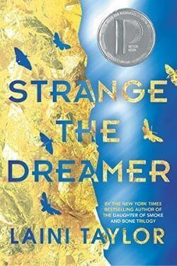 book cover Strange the Dreamer by Laini Taylor