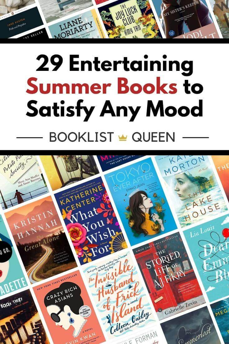 Entertaining Summer Books to Satisfy Any Mood