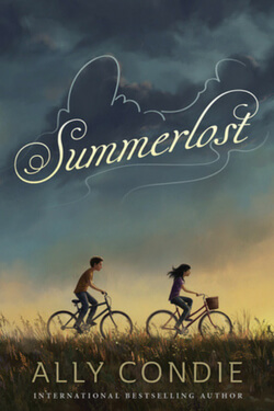 book cover Summerlost by Ally Condie