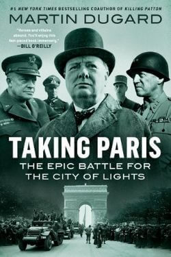 book cover Taking Paris by Martin Dugard