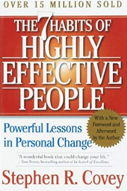 book cover The 7 Habits of Highly Effective People by Stephen R. Covey