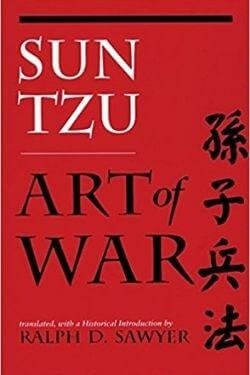 book cover Art of War by Sun Tzu
