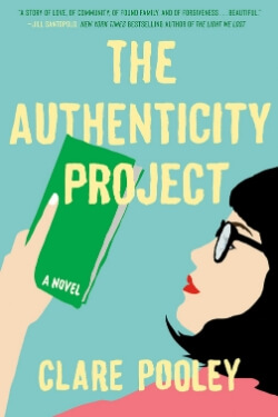 book cover The Authenticity Project by Clare Pooley