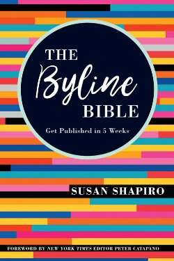book cover The Byline Bible by Susan Shapiro