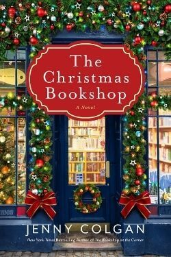 book cover The Christmas Bookshop by Jenny Colgan