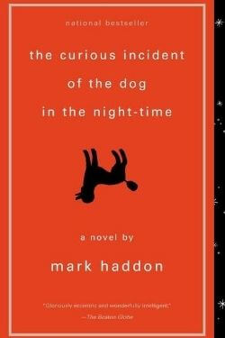 book cover The Curious Incident of the Dog in the Night-Time by Mark Haddon