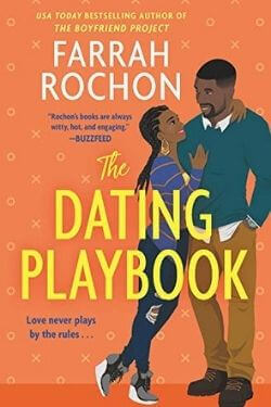 book cover The Dating Playbook by Farrah Rochon