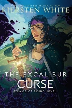 book cover The Excalibur Curse by Kiersten White