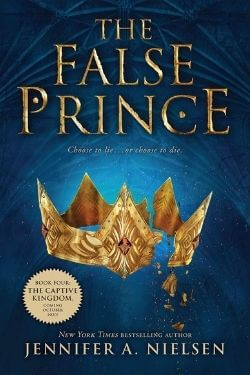 book cover The False Prince by Jennifer A. Nielsen