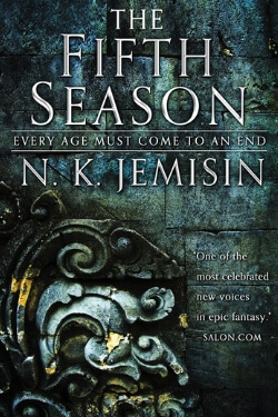 book cover The Fifth Season by N. K. Jemisin